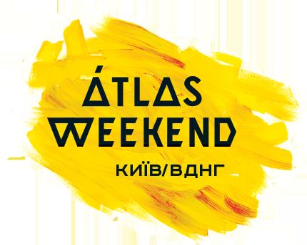 Логотип Атлас Уікенд