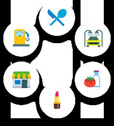 Багато сценаріїв використання в бізнесі